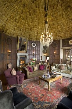The Ngorongoro Crater Lodge | HomeDSGN, a daily source for inspiration and fresh ideas on interior design and home decoration.