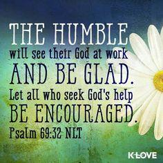Psalm 69 : 32
