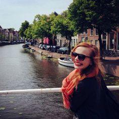 Lianne Domenic ('11) works at Amsterdam start-up