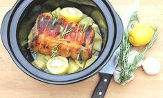 Slow Cooker Greek Lamb  - Best Slow Cooker Recipes