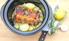 Slow Cooker Greek Lamb  - Best Slow Cooker Recipes