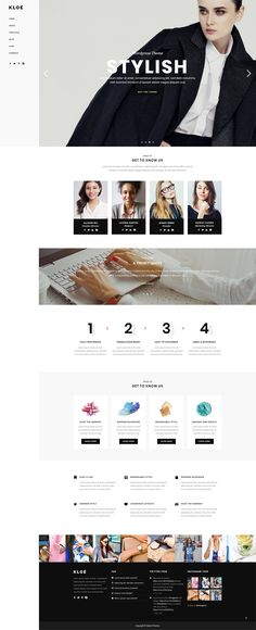 With Kloe WordPress theme, you get endless possibilities for creating a gorgeous website for your beauty, fashion or lifestyle business. Dress Out, Layout Template, Fashion Quotes, Model Agency, Business Fashion, World Of Fashion, Wordpress Theme, Dress Making, Lifestyle Blog