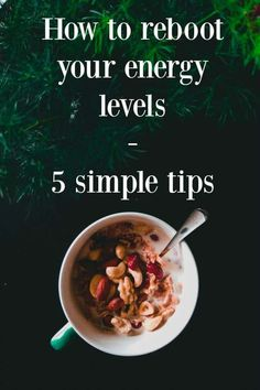 Need an Energy Reboot? Here Are 5 Things you Should Do to make your self feel fabulous today, Self-care and self-help tips to help you feel more energuised and boost your wellness #wellness #health #self-help #energy #abeautifulspace Healthy Kids, Healthy Living, Eating Healthy, Amazing Grass Green Superfood, Energy Boosters, Health And Wellbeing, Organic Recipes, Feel Better, Good Food