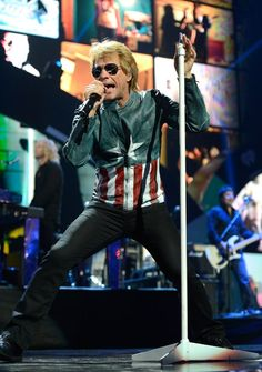 Jon Bon Jovi performs onstage during the 2012 iHeartRadio Music Festival at MGM Grand Garden Arena on September 21, 2012 in Las Vegas