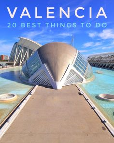 In this travel guide we have summarized the 20 most impressive things to do in Valencia at a glance. There are also useful tips and information that should help you plan your city trip. Valencia, Stuff To Do, Things To Do, Old Things, Travel Guide, Travel Ideas, Wonderful Places, Old Town, Spain