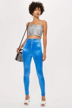 Topshop High Waisted Disco Leggings 80s Fashion 4ff02bbe04e9