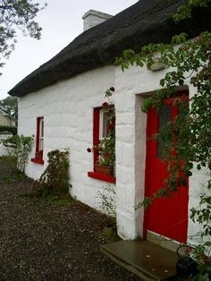 Thatched cottage...County Fermanagh Ireland