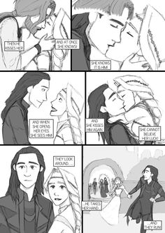 After Thor TDW - comic-fanfic - page 23 by DKettchen on DeviantArt Loki Thor, Tom Hiddleston Loki, Marvel Dc Comics, Marvel Avengers, Loki And Sigyn, Loki Laufeyson, Loki God Of Mischief, Marvel Memes, Avengers Memes