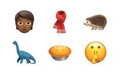 Noen av de nye emojiene som dukker opp i OS-11.1.