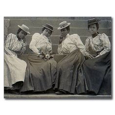 Vintage African American Fashion Photography | Antique African American Women Photo Post Card from Zazzle.com African American Fashion, African American History, Old Photos, Vintage Photos, Antique Pictures, Old Fashioned Photos, Vintage Black Glamour, Vintage Beauty, Vintage Fashion