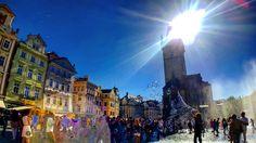 #OldtownSquare #Prague #Orloj #Blubbles #Sun #Sunny