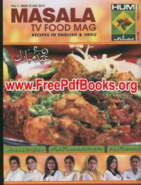 Masala Tv Food Magazine July 2017 Free In Pdf
