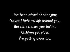Stevie Nicks lyrics landslide | Rose OBrien, Stevie Nicks / Fleetwood Macs Landslide (Lyrics Video ...