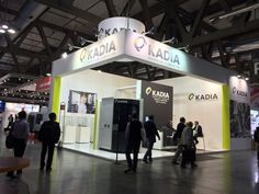 Kadia #emomilano2015 #emomilano #design #tradeshow #standdesign #exhibitiondesign #milano #exhibition