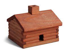 Log Cabin Blasam Fir Incense Burner - $10.50