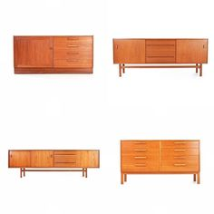 A selection of classic mid century pieces designed and manufactured by 'Troeds'. Established in 1934 by Svea Och Hugo Troedsson and located… Mid Century Credenza, Midcentury Modern, Teak, The Selection, Cabinet, Storage, Classic, Heaven, Furniture