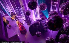 Party girl: Paloma sang to the cameras as she graced the stage at the decadent event. Paloma Faith, Satin Gown, Simple Style, Cameras, Stage, Tower, Glamour, Party, How To Wear