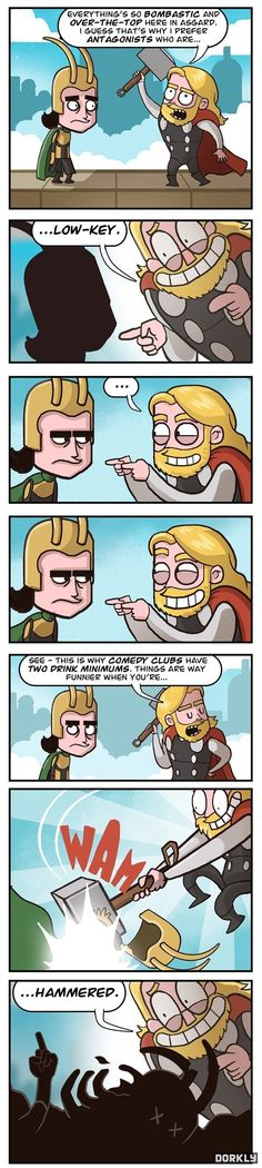 "These important puns. | 22 Pictures That Only Fans Of ""The Avengers"" Will Find Funny"