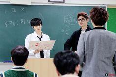 [STARCAST] Behind the scenes of UP10TION WISHLIST BURST V #wooshin #wei #sunyoul