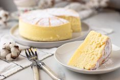 Japanse cheesecake (Cotton cheesecake) - OhMyFoodness Cotton Cheesecake, Cake Recept, Vanilla Cake, Yummy Treats, Oreo, A Food, Sweet Tooth, Sweets, Dishes