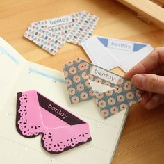 Cute Kawaii PVC Collar Bookmarks Novelty  Creative Products Items for Book Korean Stationery Free shipping 725