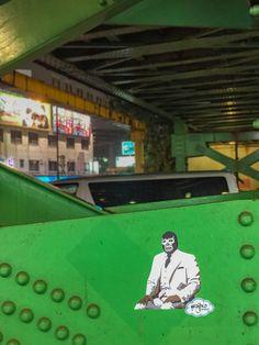 Un maravilloso viaje por este país. México haciendo presencia en sus calles/ A fantastic trip through this country. México making presence in the streets. #wajirodream #wajiroart #mexico #japan #hechoenmexico #travelphotography #besttrip #streetart #artecallejero #stencil #ilustracion #art #arte #artlovers #artista #luchalibre #luchador #artwork #bluedemon