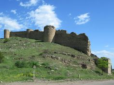 The century Mayraberd Fortress at Askeran, Republic of Nagorno Karabakh, was built by a Persian khan to control the road from from the eastern lowlands to Shushi. The Republic, 18th Century, Monument Valley, Persian, Mount Rushmore, Mountains, Nature, Travel, Voyage