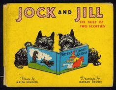 Scottish Terrier Puppy, Terrier Dogs, Cairn Terriers, Friend Book, Dog Books, Dog Pin, West Highland Terrier, Vintage Children's Books, Dog Quotes