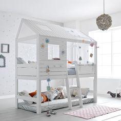 LifeTime Hochbett Silversparkle für Kinder online kaufen