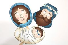 Direct site to Printable Nativity Masks - The Dating Divas