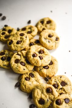 Sunbutter Chocolate Chip Cookies (GF+V) – Sincerely Tori