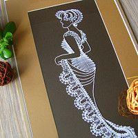 Zboží prodejce Miriam Dušková / Zboží | Fler.cz Bobbin Lacemaking, Nail String Art, Lace Art, Point Lace, Needle Lace, Lace Making, Tatting, Projects To Try, Dots