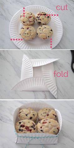 Neat!! Cupcake holder