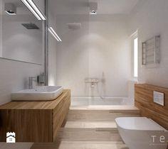 Projekty wnętrz lokali mieszkalnych ul.Hoża Kielce - Łazienka - zdjęcie od Tera Group Pracownia Architektoniczna Sp. z o.o.