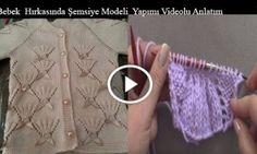 Bebek  Hırkasında Şemsiye Modeli  Yapımı Videolu Anlatım