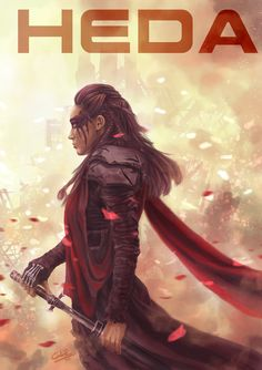 She's badass!! Enough said! HEDA Lexa fan art by http://glping.deviantart.com