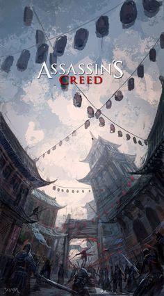 Assassin's Creed  - Digital Painting by Chao Yuan Xu