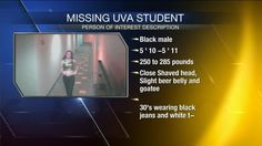 Police Seeking 'Person Of Interest' In Case Of Missing UVA Student