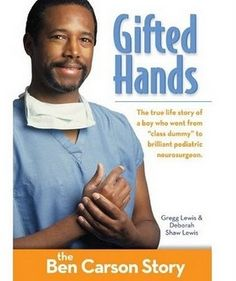 "Read ""Gifted Hands, Kids Edition: The Ben Carson Story"" by Gregg Lewis available from Rakuten Kobo. Ben Carson used to be the class dummy. Today he is one of the world's most brilliant surgeons. Ben Carson, Greg Lewis, Books To Read, My Books, Dr Ben, Reading Levels, Stories For Kids, Great Books, Childrens Books"