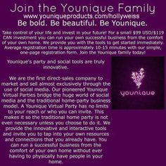 Join me on this awesome journey www.youniqueproducts.com/hollyweiss