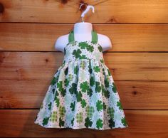 Clover Toddler Dress by Chicklettes on Etsy