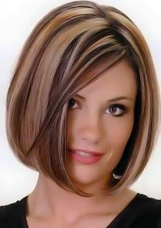 medium bob hairstyle number 48.