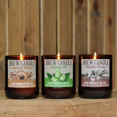 Swag Brewery - Brew Candle 3-Pack