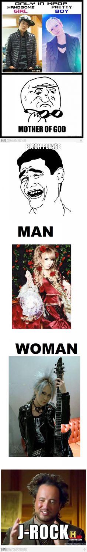 jrock: woman? man? human!