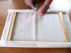 Stretching your own canvas from crafty, want to make a giant canvas for a vintage quilt but need a stable base