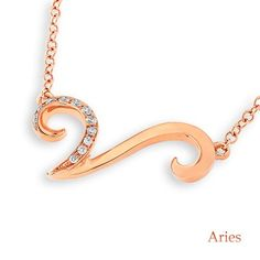 Browse our wide range of #bestfinejewelrycollection online at Noblag. Shop online for gold, diamond, white gold pendants &necklaces styles at affordable prices. Plus FREE SHIPPING.  Shop now: https://www.noblag.com/18k-750-white-gold-aries-zodiac-diamond-chain-necklace.html