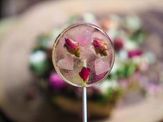 Turkish Delight Pistachio And Rose Flavored Lollipop (One)