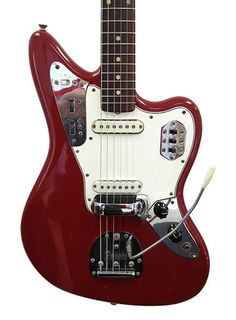 The Fender Jaguar is an electric guitar by Fender Musical Instruments characterized by an offset-waist body, a relatively unusual switching system with two separate circuits for lead and rhythm, and a