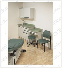 Refurbished   Midmark Traditional Exam Room Casework
