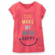 CAMISETA INFANTIL CARTER'S HAPPY